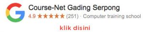 google-review course-net gading serpong